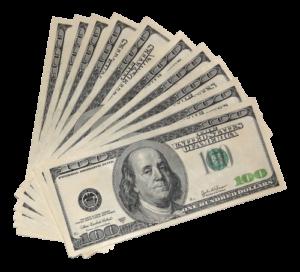 one thousand dollars cash USD